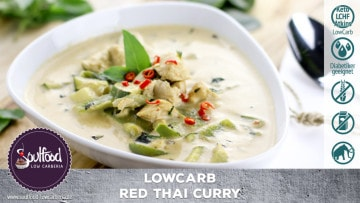 Low Carb Rotes Thai Curry