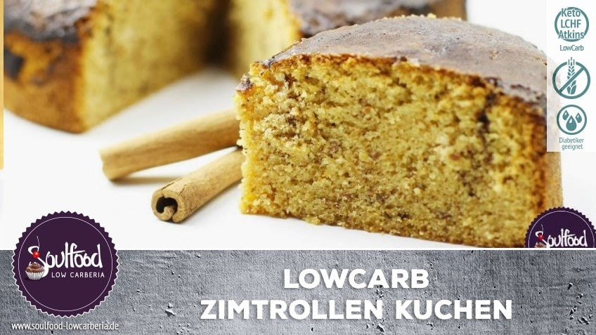 Low Carb Zimtrolle