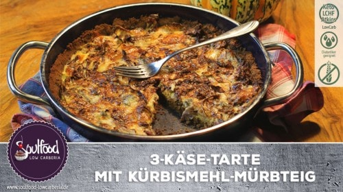 Low-Carb Käsetarte