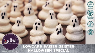 Low Carb Halloween Geister