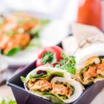 Buffalo Chicken Mozzarella Wrap